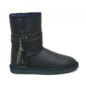 UGG Zipper Transformer Leather Navy
