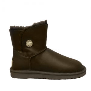UGG Turnlock Mini Leather Boot Brown