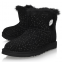 UGG Bailey Button Mini Swarovski Black