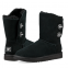 UGG Short Turnlock Bling Boot Black