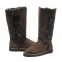 UGG Tall Triplet Button Chocolate