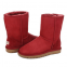 UGG Classic Short Red