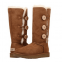 UGG Tall Triplet Button Chestnut II