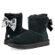 UGG Bailey Bow II Mini Customizable Black
