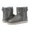 UGG Mini Double Zip Leather Grey