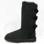 UGG Bailey Bow Tall Black