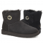 UGG Bailey Button Mini Ornate Black