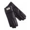 UGG Women's Leather Black Gloves